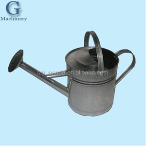 Cheap custom wholesale metal bucket made of galvanized steel for garden