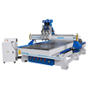 ELE1530 3 spindles cnc wood rotary router computer cabinet door making machine from China