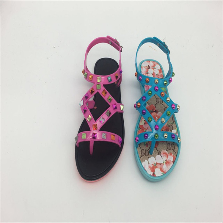 Trade Assurance Ladies Flat Wedge 2016 African Sandals