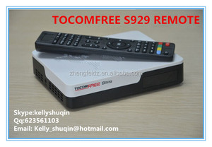 2015 new Digital receiver remote for tocomfree s929 with iks sks free and support iptv for South America
