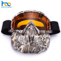 Manufacturer Water Transfer Printing Design Full Face Mask Ski Snow Goggles