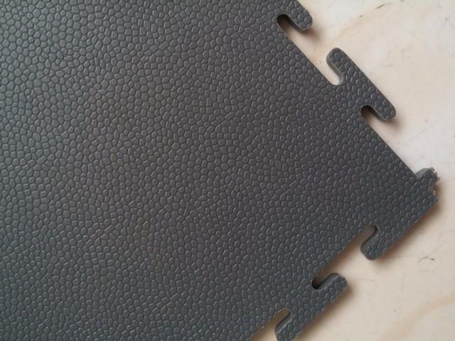 Vinyl Pvc Flooring Interlock Garage