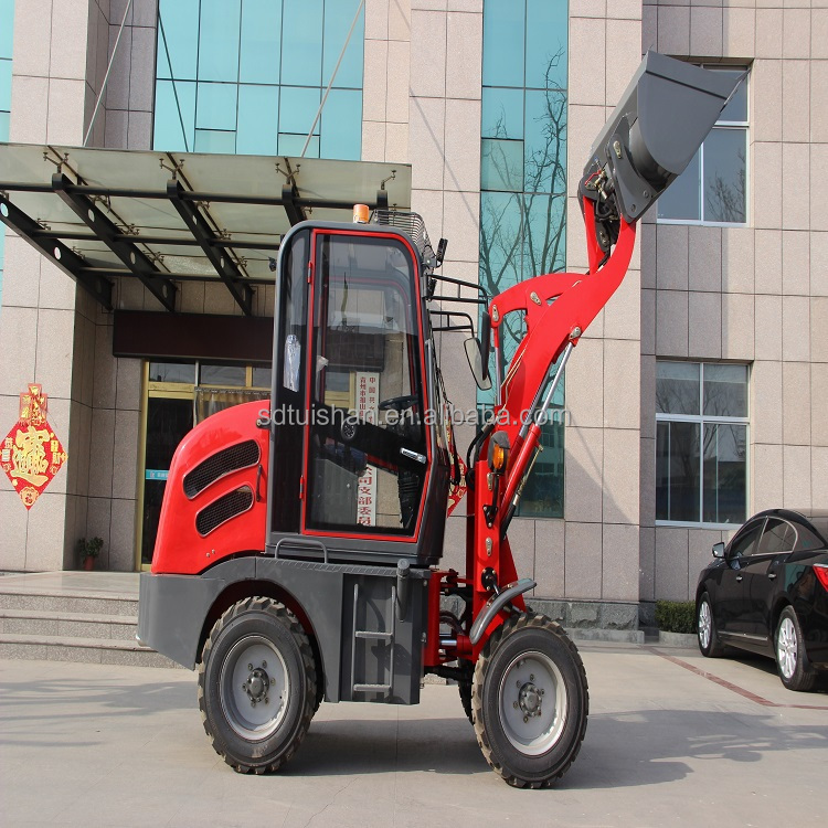 ZLY908 very mini chinese agricultural machinery , high quality compact wheel loader, small farm equipment made in China