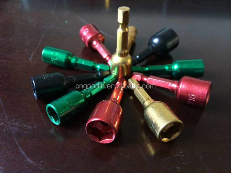 HOT SALE COLOR-CODED QUICK CHANGE MAGNETIC SOCKET DRILL BITS
