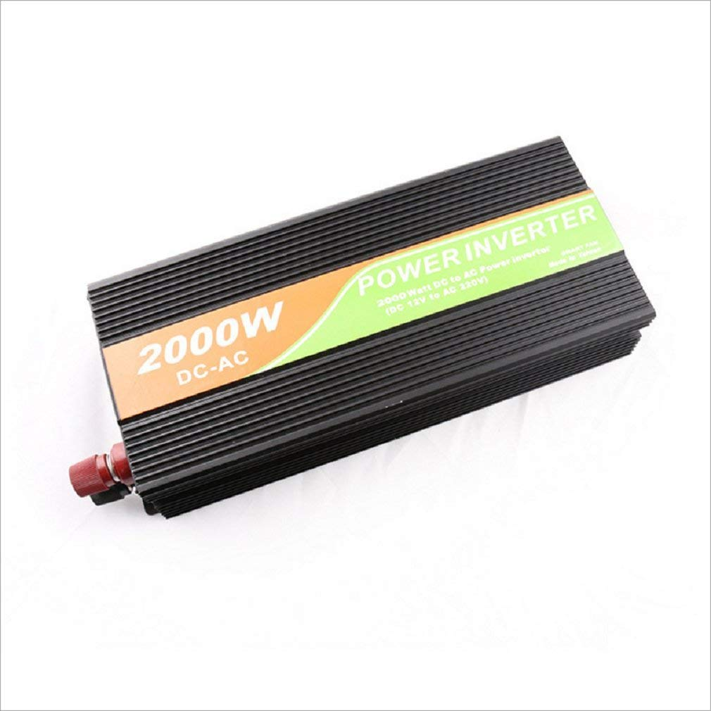 In-vehicle inverter power supply/12v/24v change 220v/home field/car converter 2000W