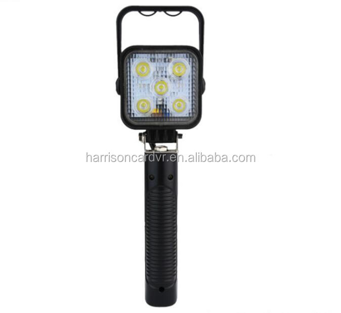 15W Portable Work Light Rechargeable Car Inspection Repair Handheld Work Lamp Camping Lantern With Hook&Plug