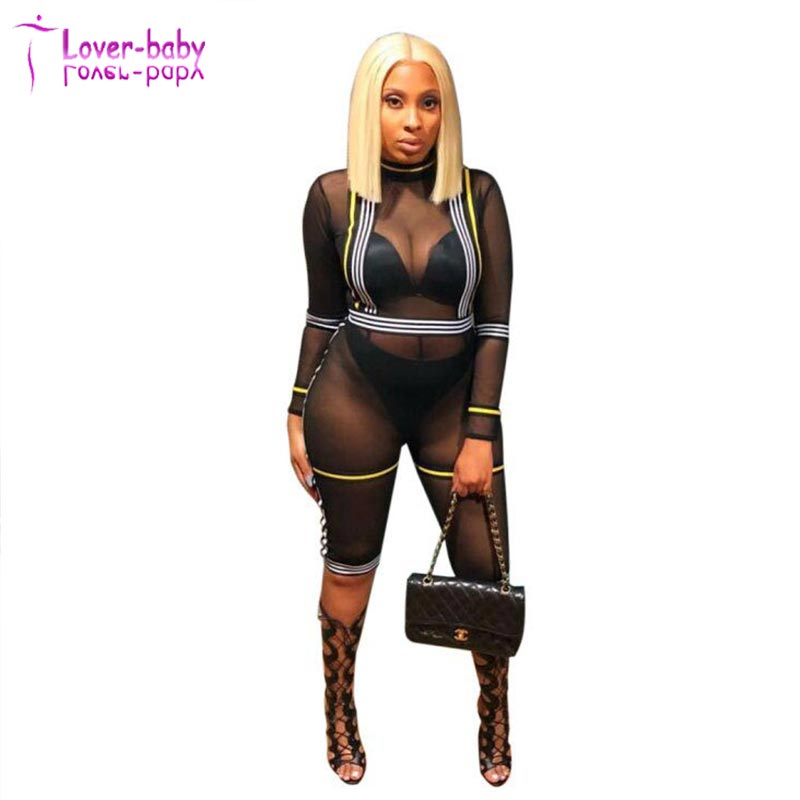 Alibaba.com / Sexy Jumpsuits Sexy See Through Mesh Jumpsuits Womens Jumpsuit