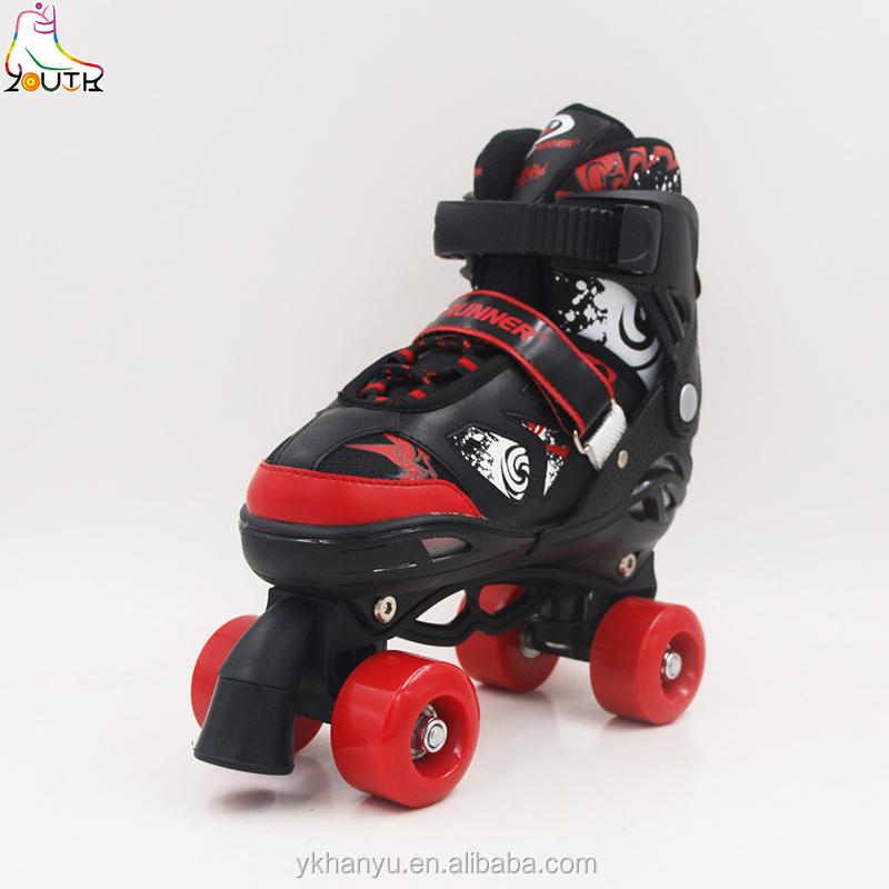 four wheel roller skate shoes, four