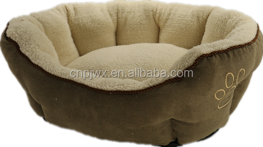 Hot sale plush cheap warm pet product pet bed for dog and cat
