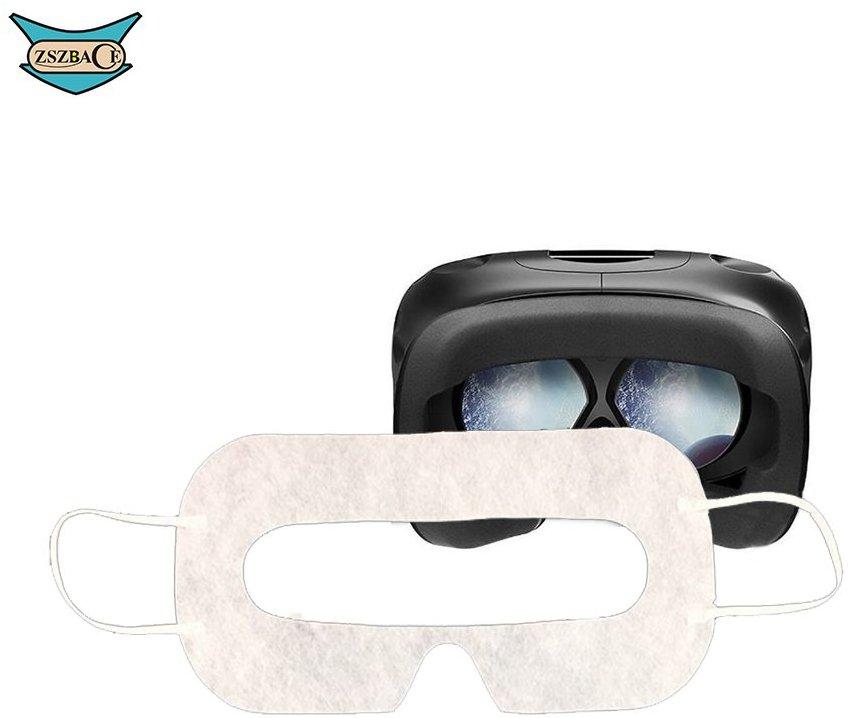 ZSZBACE VR Disposable Eye Mask Sanitary White- Widely Use- 100PCS- Eye Patch