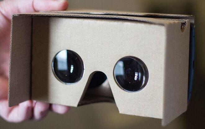 5f8adecf9f Cartón DIY Google biconvexa lente, 25mm diámetro 45mm longitud focal Google  3D lente de cristal. Artículo: 25mm acrílico lente convexa doble con 3 Clip  ...