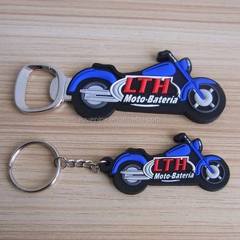 Motorcycle Custom Make 3d Pvc Key Ring Bottle Opener - Buy Different Size  Motor Pvc Key Chain,Silicone Key Chain Car Shaped,Custom Rubber Soft Key