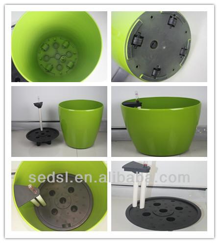 Kleine Kunststoff mini großhandel blume & garten & pflanzer malerei töpfe