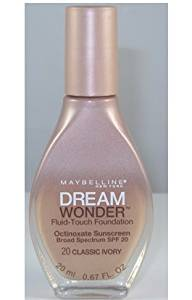 Maybelline New York Dream Wonder Foundation - Classic Ivory (Pack of 2)