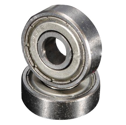 TOOGOO(R) 10pcs Miniature Rubber Sealed Metal Shielded Metric Radial Ball Bearing MR148-ZZ 8X 14 X 4Mm