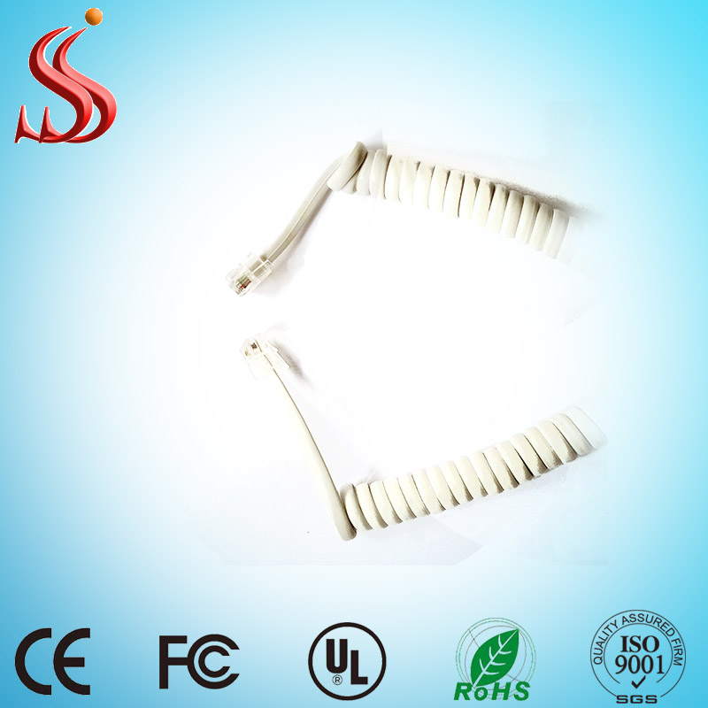 Finden Sie Hohe Qualität 6p6c Spiral Kabel Hersteller und 6p6c ...