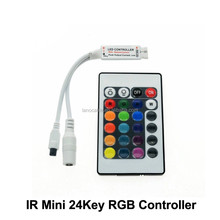 latest decorations 5050 rgb lighting programmable mini led controller for RGB color strips