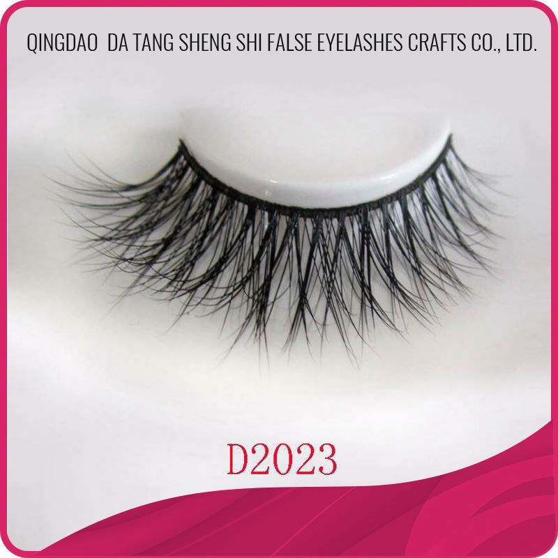 Hot sell high quality 3d real mink lashes eyelash extension korea style