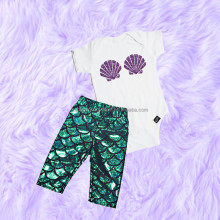 Factory products summer mermaid pant baby set newborn