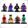 hot selling small Minifigures Blocks Building Toys,Oem plastic mini figures,custom pvc Character Plastic mini Figurine for kids