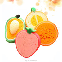 DGC Factory Wholesale Fruit Style Dish Towels, Kitchen Tool Washing Cleaning Sponge Customized acceptable