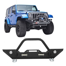 Voorbumper W/Lier Plaat & LED Verlichting Voor <span class=keywords><strong>Jeep</strong></span> <span class=keywords><strong>Wrangler</strong></span> <span class=keywords><strong>JK</strong></span>