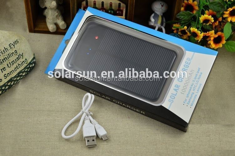 Original 10000mAh Rugged Portable Solar Power Bank For Laptop At Factory Price