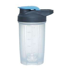 Promotion 3 Color 500ml Shaker Plastic Water Drinking Bottle