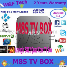 HOT and FAST selling Quad Core 2g Ram 8g Rom <strong>set</strong> <strong>top</strong> <strong>box</strong> m8s 2016 m8s android <strong>tv</strong> <strong>box</strong>