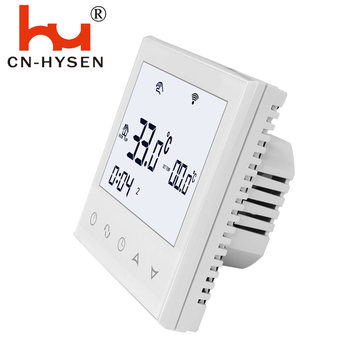 Hysen 3A Touch Screen Smart Thermostat for HVAC  Underfloor Water Heating System in Stock with Sensor