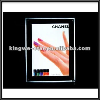 Advertising Crystal Led Backlit Poster Frame - Buy Crystal Led ...