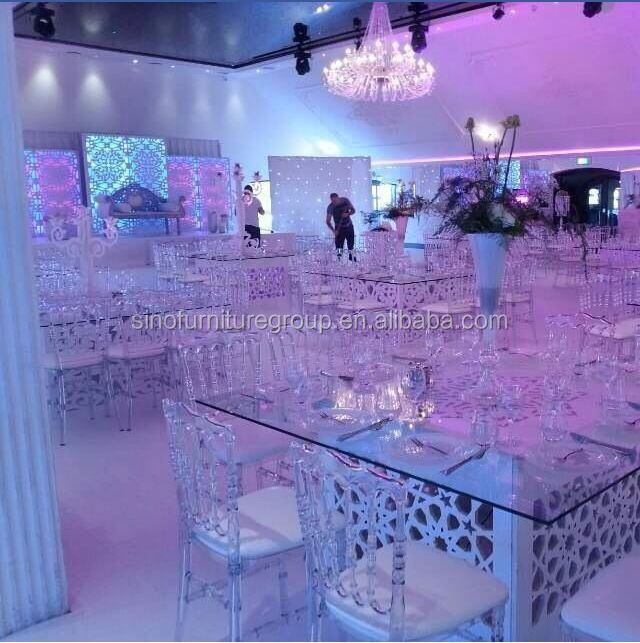 Glass Table Decorations For Weddings