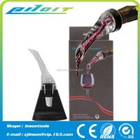 Plastic wine pourer/wine drop stopper