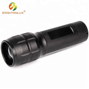 Wholesale Aluminum 3W Power Tail Button Led Flashlight Long Distance Torch