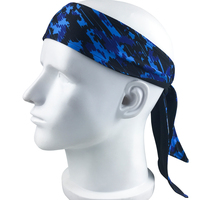 2018 Hot Custom Men American stripes wicking performance Headband sweatband for Athletic sports