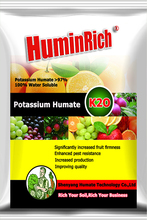 Huminrich Increased Yield Organic Fertilizer 100% Soluble Spray Potassium Humate Powder