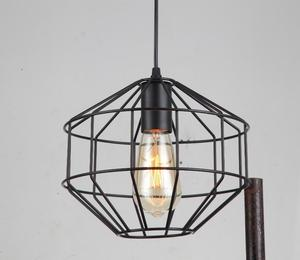 Hot selling modern designer pendant lamp metal lighting for decorating chandelier iron wire for hanging lamp cage pendant lights