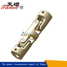 Stainless Steel Single And Double Small Universal Joint For Agricultural Machinery