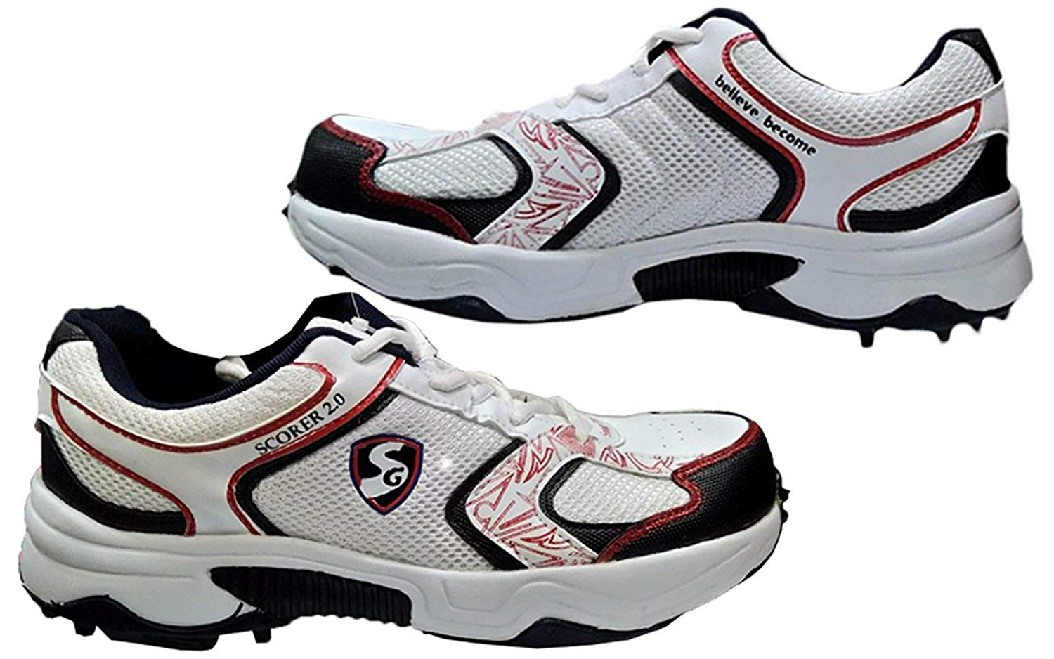 SG Buy Cricket Shoes Bowling/Batting Running Rubber Sports Shoes-Studs Boots