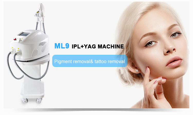 Painfree ipl shr hair removal diode laser device