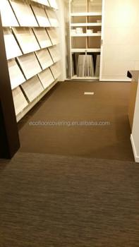 Ourdoor Pvc Bodenbelag Mit Strukturierte Woven Textile Boden