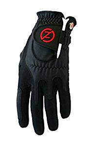 Zero Friction Golf Glove, Left Hand, One Size, Black Color: Black Size: One Size Model: ZF-ACGOGLOV-M-BK (Hardware & Tools Store)