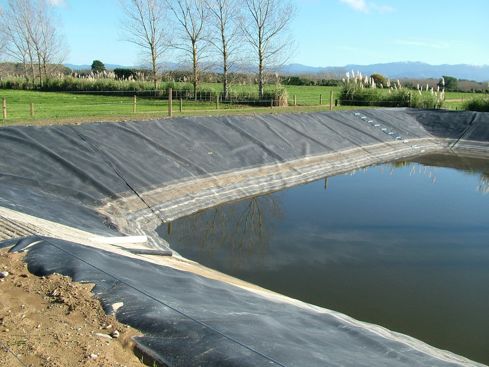 Industrial pond liner geomembrane food grade pond lining for Bache liner