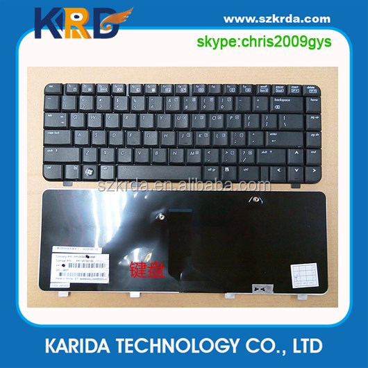 Brand New replacement laptop keyboard for HP 500 510 520 notebook keyboard black