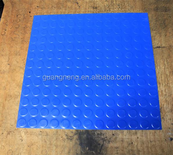 Qingdao pas cher diamant course pont caoutchouc garage for Revetement sol plastique pas cher