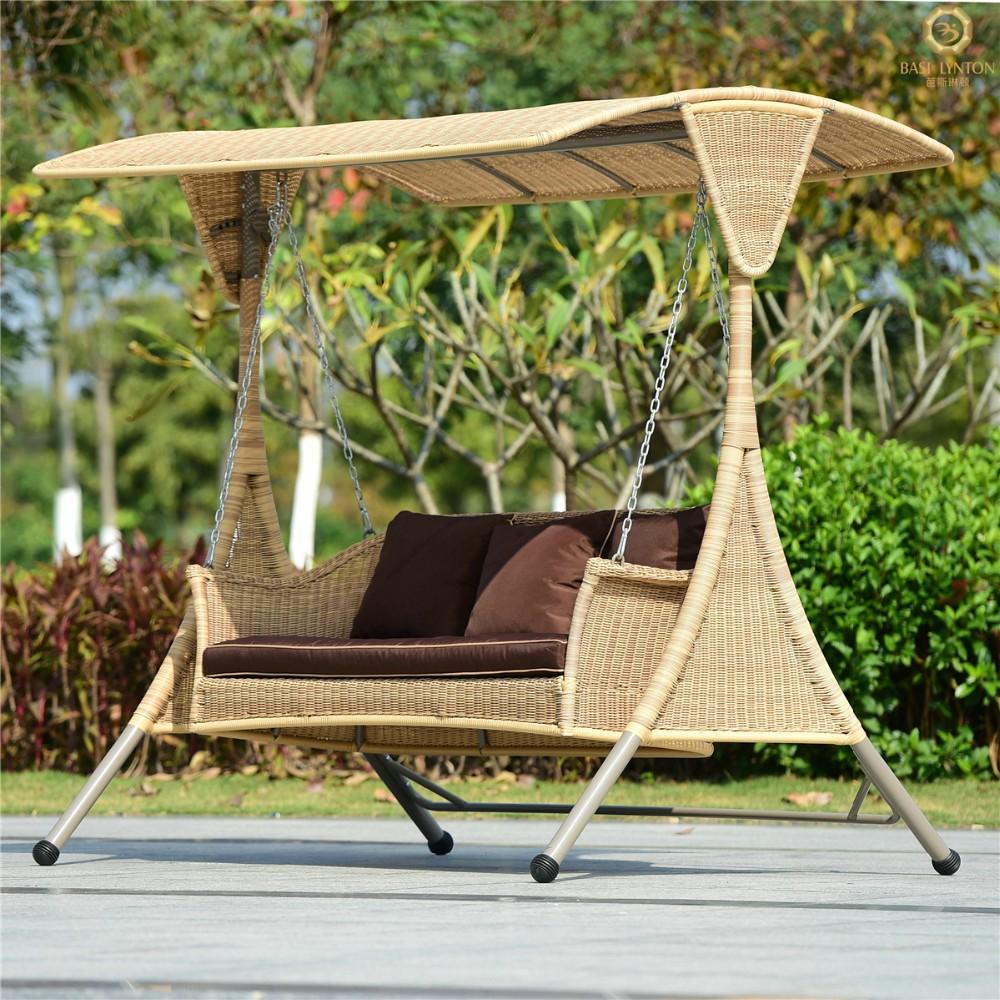 Outdoor Furniture Swing Seat Set Metal Outdoor Swings For