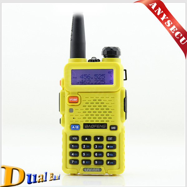 2015 high quality BaoFeng 5W UHF&VHF136-174 / 400-520MHz UV-5R Mobile Portable Interphone Transceiver Walkie