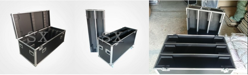 American DJ style audio rackmount case for console power supplies