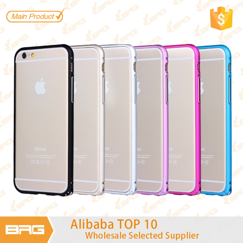 Aluminum bumper TPU case cover For iPhone5/5s/ 6/6s/6 6splus