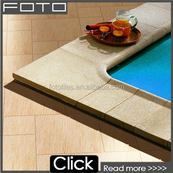 The best seller yellow gold rustic style porcelain floor tile